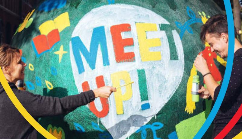 "Förderprogramm ""MEET UP! Youth for Partnership für DE, AM, AZ, GE, MD und UA"""