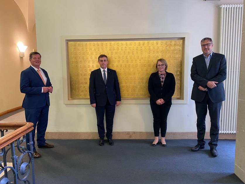Besprechung CDU/CSU Gruppe, MdB Eckhart Pols