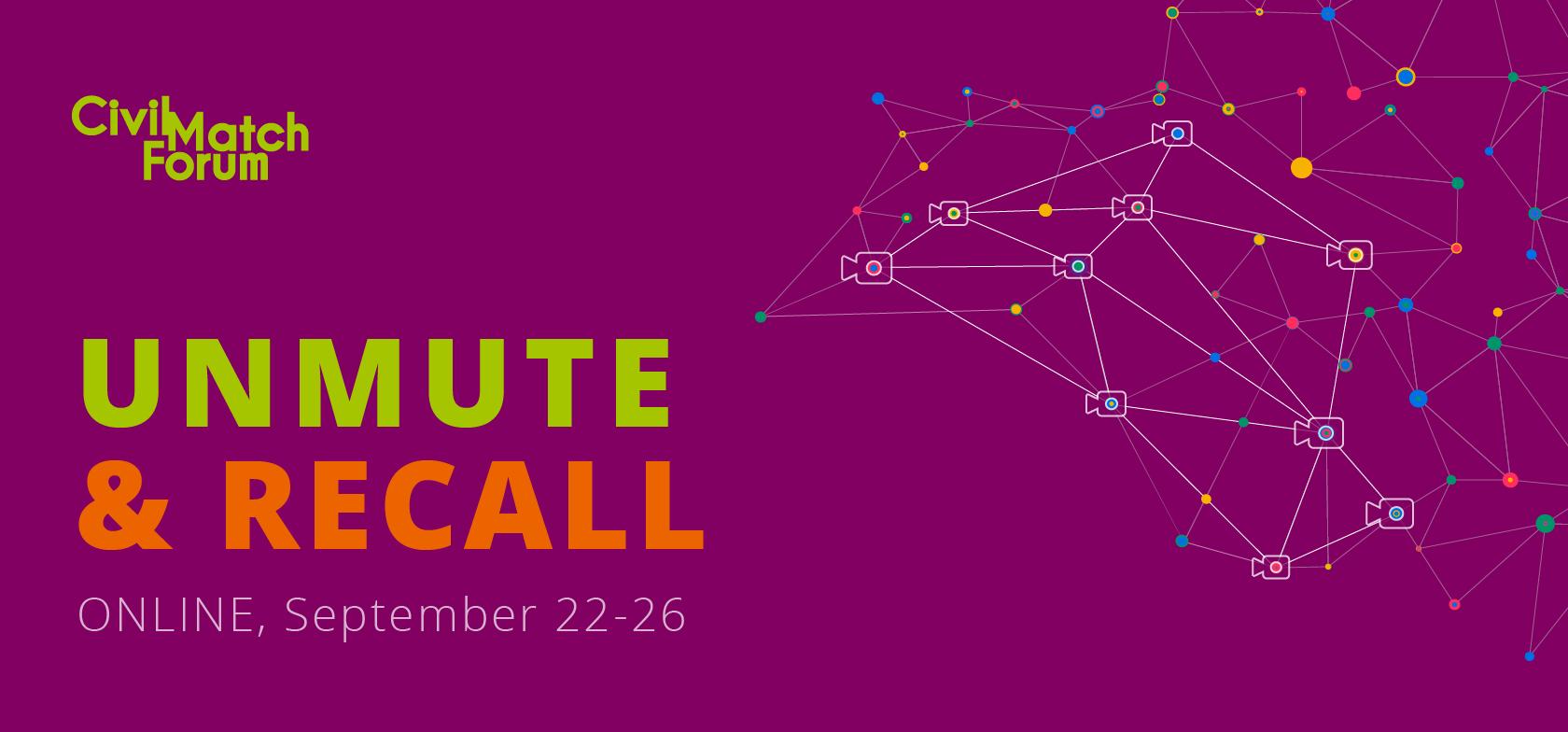 Das Civil Match Forum ist zurück! Registriere dich jetzt und mach dich bereit, dich zu entstummeln & zurückzurufen!