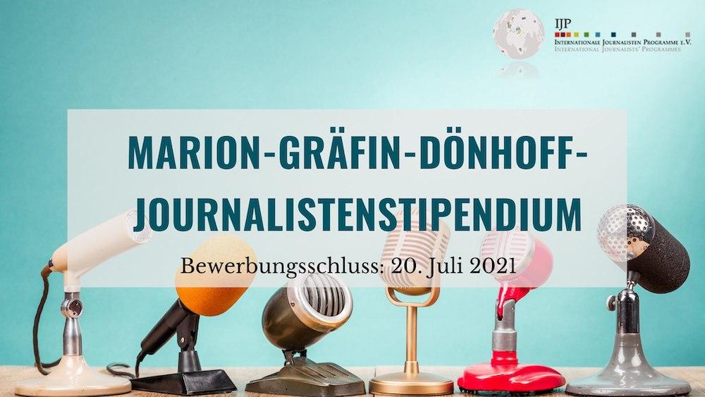 Deutsch-Osteuropäisches Journalistenstipendium