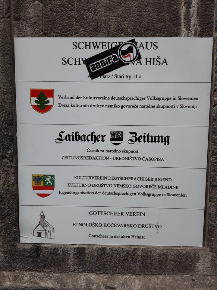 Unterstützung für die deutsche Volksgruppe in Slowenien