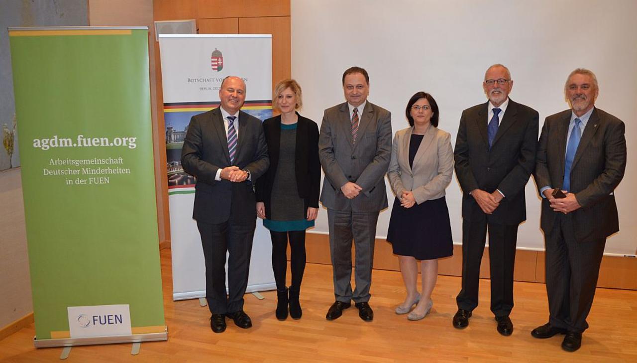 Empfang für AGDM in der Botschaft Ungarns