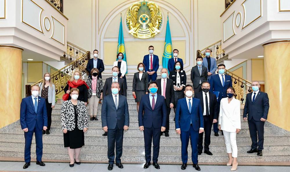 XVIII. Konferenz der Kasachisch-Deutschen zwischenstaatlichen Kommission