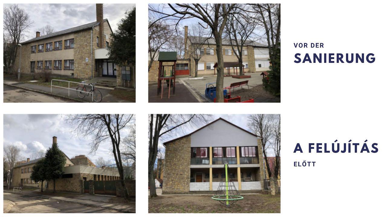 Schöner und moderner – LdU-Kindergarten in Fünfkirchen erfährt komplexe Sanierung