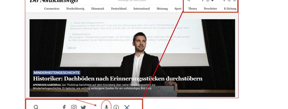 Europarat fordert mehr deutsches Radio und TV in Dänemark