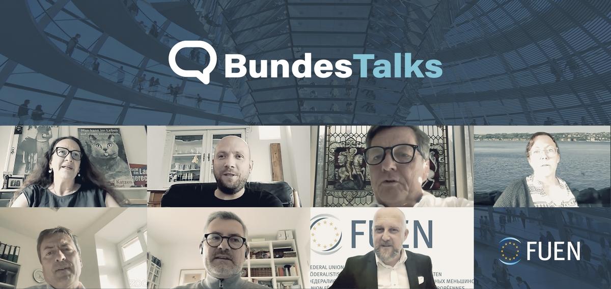 Zweite Auflage der FUEN BundesTalks: Bundestagskandidatinnen und -kandidaten diskutierten über auswärtige Minderheitenpolitik