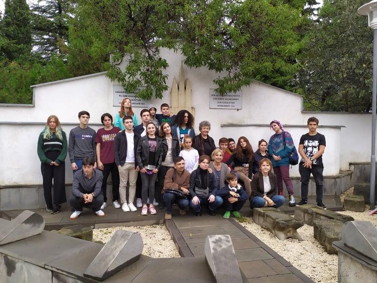 Jugendausflug in ehemalige deutsche Siedlungen