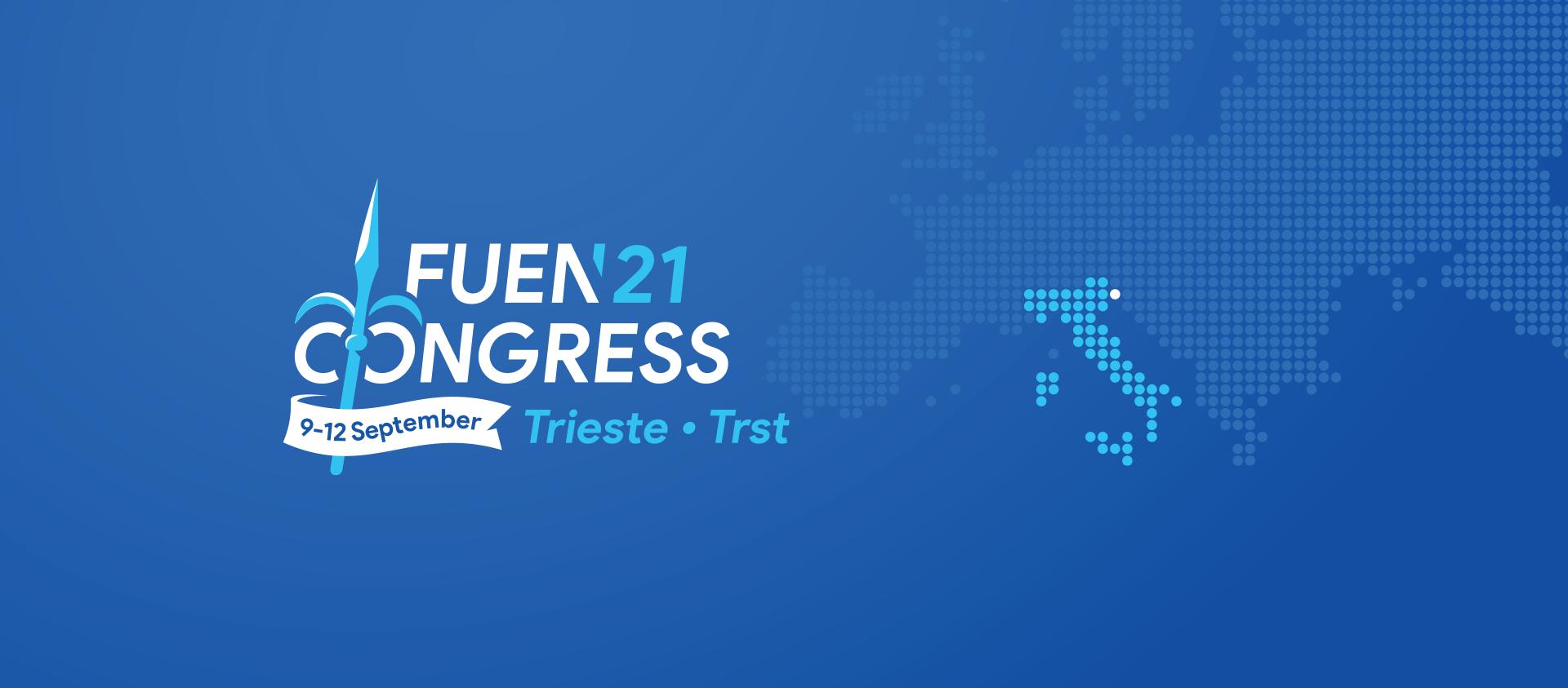 FUEN-Jahreskongress 2021 in Triest/ Trst