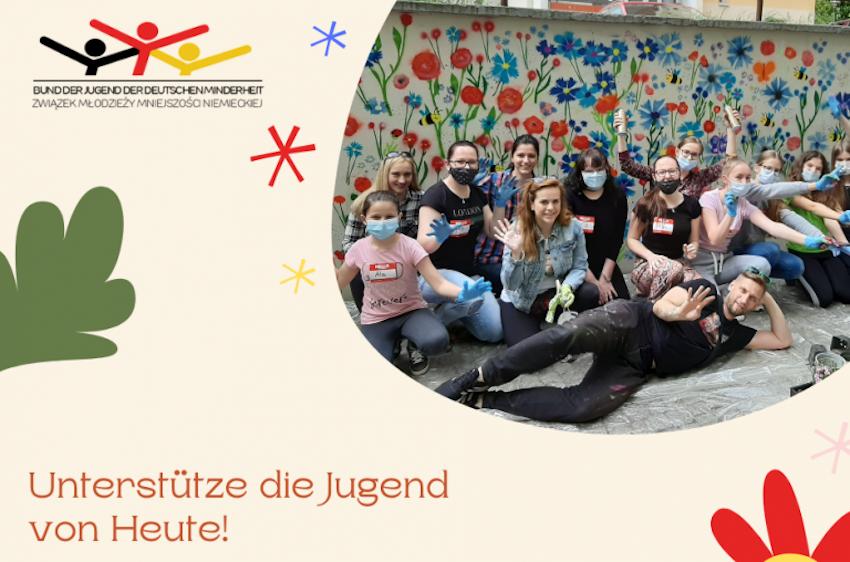 Unterstütze die Jugend der deutschen Minderheit!