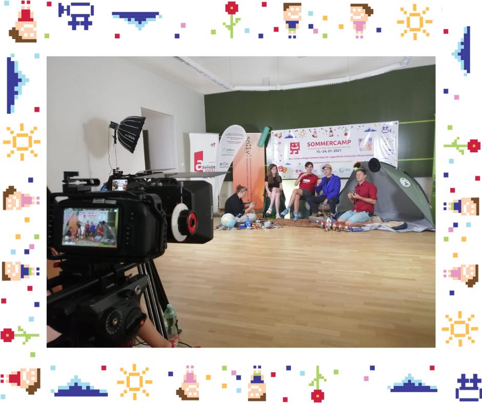 Sommercamp: Gemeinsam, Grenzenlos, Hurra