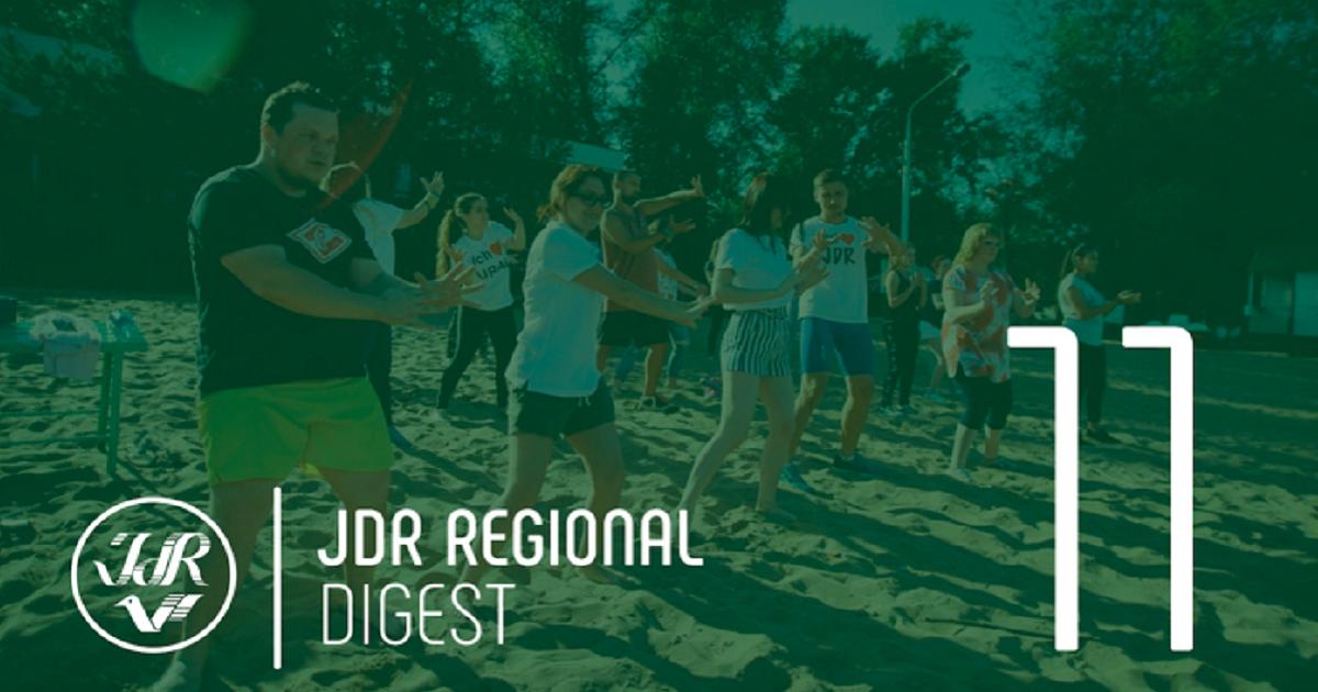 WIR SIND IN SOZIALEN NETZWERKEN 06. Juli 2020 JdR Regional Digest: 16.–30. Juni 2020