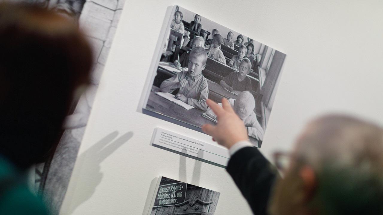 """Die Ausstellung """"Das deutsche Wolgagebiet"""" wird im DRH Moskau eröffnet"""
