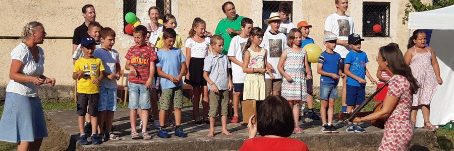 Ein Vierteljahrhundert Tradition in Metzenseifen: das Kindersprachlager